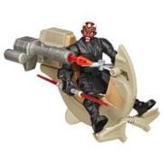 Jucarie Star Wars Hero Mashers Sith Speeder And Darth Maul