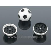 Grinder din plastic tip minge de fotbal