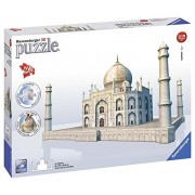 Ravensburger 3D Puzzles Taj Mahal, Multi Color (216 Pieces)