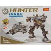 Hunter Robot Building Blocks 186 Pcs Set Compatible with Lego Parts Grate Quality, Grate Gift for Boys and Girs, the Best Toy.