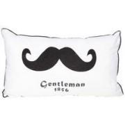 Cosy@Home Kussen Moustache 30 x 50 cm