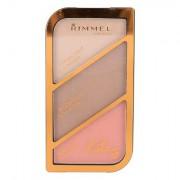 Rimmel London Kate paletta contouring 18,5 g tonalità 002 Coral Glow