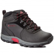 Félcipő COLUMBIA - Youth Newton Ridge BY2852 Black/Mountain Red 010