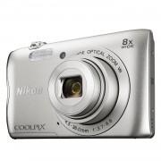 Nikon Coolpix A300 compact camera Zilver