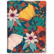 Nutcaseshop Vintage Flowers Blue(Multicolor)