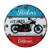 Ceas de perete California Riders