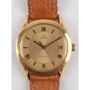 Zlaté náramkové hodinky OMEGA Automatic Caliber 1110