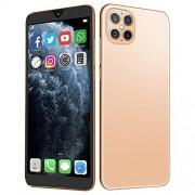 """Dilwe1 Smartphone Desbloqueado, 6.1""""2230x1080 Pantalla Completa desbloqueada Teléfono Celular Android10.0, 1GB RAM + 8GB, Dual Nano SIM, Cámaras duales 13MP + 16MP, Batería de 4800mah, Face ID(Oro)"""