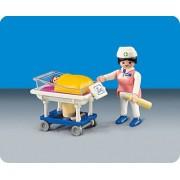 Playmobil 3979 Hospital Nurse with Baby Kim