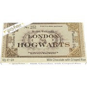 Jelly Belly Harry Potter Chocolade Hogwarts Express Ticket Bruin