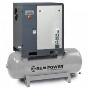 REM POWER elektro maschinen vijčani kompresor EPM 1504/10/500 IE3