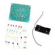 ELECTROPRIME® 3V-4V Flash Heart Light DIY Kit Electronic Parts Red Flashing Green Board