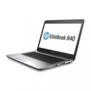 "Лаптоп HP EliteBook 840 G3 (W4S56UC)(сребрист), двуядрен Skylake Intel Core i7-6600U 2.6/3.4 GHz, 14"" (35.56 cm) Full HD Anti-Glare Display, (DP), 16GB DDR4, 256GB SSD, 1x USB Type-C, Windows 7, 1.48 kg"