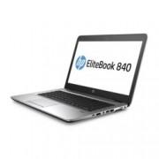 "Лаптоп HP EliteBook 840 G3 (W4S56UC)(сребрист), двуядрен Skylake Intel Core i7-6600U 2.6/3.4 GHz, 14"" (35.56 cm) Full HD Anti-Glare Display, (DP), 16GB DDR4, 256GB SSD, 1x USB Type-C, Windows 7, 1.48 kg"
