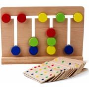 Joc Montessori Din Lemn Labirint Asociaza Culorile - Krista and reg