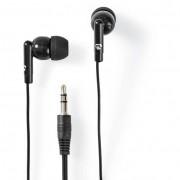 Nedis HPWD1000BK vezetékes fülhallgató - fekete