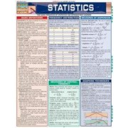 Statistics Laminate Reference Chart Parameters Variables Intervals Proportions