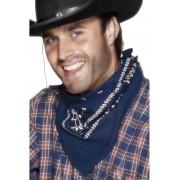 Zakdoek cowboy bauw