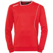 Kempa Trainingstop CURVE - rot/weiß | XL
