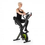 Klarfit X-Bike XBK700 Pro Vélo d'appartement ergomètre pulsomètre - noir & vert