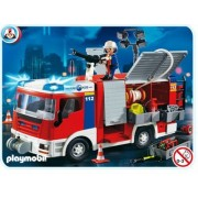 Playmobil Emergency Rescue Fire Engine Truck