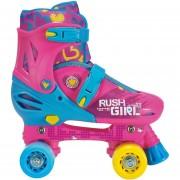 Patines 4 ruedas Squad artisticos Rush Girl 35-38-Rosado