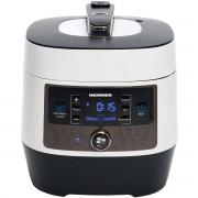 Multicooker cu gatire la presiune Heinner HPCK-6WH, 6 L, 14 programe, Vas antiaderent detasabil, Timer, Presiune reglabila, Display LED, Alb
