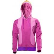 Adventure Time - Princess Bubblegum Cosplay dames hoody vest met capuchon roze - S - Televisie cartoon merchandise