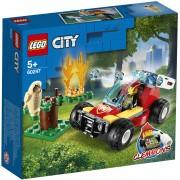 Lego City Fire (60247). Incendio nella foresta