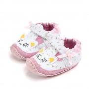 Pantofi fetite pisicute roz 6-12 luni