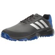 adidas Men's Adipower Bounce Carbon/SI Golf Shoe, Black, 12 M US
