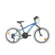 Планинско колело Shockblaze Warrior 20'', 18sp синьо
