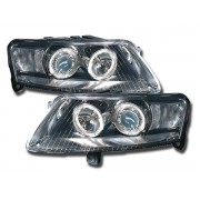 Faruri Angel Eyes Audi A6 4F 04- crom