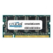 Crucial - DDR - 1 Go - SO DIMM 200 broches - 333 MHz / PC2700 - CL2.5 - 2.5 V - mémoire sans tampon - non ECC