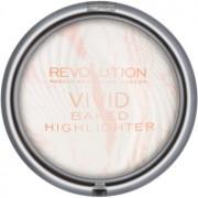 Makeup Revolution Vivid Baked печена озаряваща пудра цвят Matte Lights 7,5 гр.