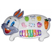 Fun N Joy Rabbit Shape Toy for Kids and Gift - Multicolor