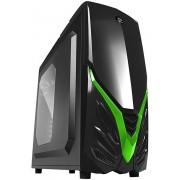Kuciste Raidmax Viper II, 12cm Fan/USB 3.0/ToolFree/Crno-Zeleno/A07WBG