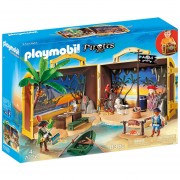 Playmobil Linea Piratas - Maletin Isla Pirata - 70150