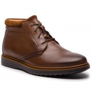 Обувки CLARKS - Un Geo Mid Gtx GORE-TEX 261367747 Brown Leather