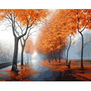 Gaira Malování podle čísel Podzimní park M1141