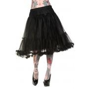 sukně dámská (spodnička) BANNED - Petticoat Black - SBN210