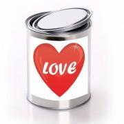 Shoppartners Love cadeaublik met hartje