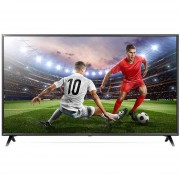 "LG 55uk6100 Tv 55"" 4k Ultra Hd Smart Tv Wi-Fi Bluetooth Classe A Colore Nero"
