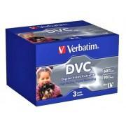Difox Verbatim DVM 60 min miniDV band - 3-pack