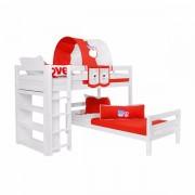 Dečiji krevet na sprat Emil Beli My Love