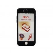 Husa Iphone 7 Plus Full Cover 360 cu stand si placuta magnetica, Negru