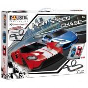 Mac due polistil 960345 pista elettrica high speed chase