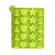 Forma silicon pop cakes + bete-Fantezie-verde