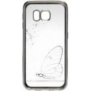 Skin Tellur Samsung Galaxy S6 G920 Fluture Argintiu