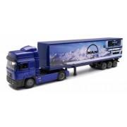 Camion diecast MAN F2000 cu container 1 43